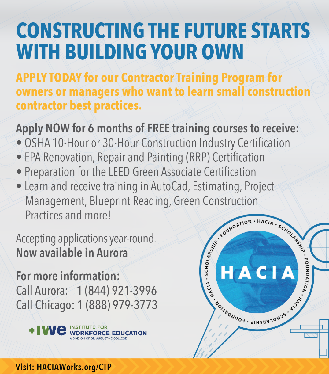 Hacia Haciasef Contractor Training Program